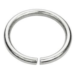 Kółko kaletnicze do torebki szelek kombinezonu 20 mm srebrne 100 szt.