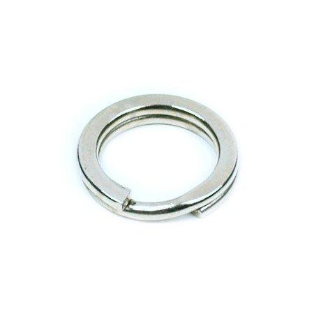 Kółka płaskie do kluczy breloków 10 mm 100 szt.